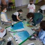 Os escolares de Fene dan forma ao Camiño Inglés coa axuda dos nosos ilustradores